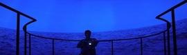 'Caminar sobre el agua', experiencia inmersiva en 360º con sistemas de projectiondesign para la Bienal de Venecia 2013