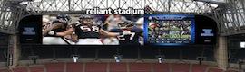 Mitsubishi Electric instala dos pantallas Diamond Vision, las más grandes del mundo, en el Reliant Stadium en Houston