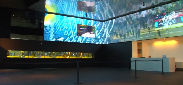 Video Wall del Oregon Ducks Football Perfomance Center