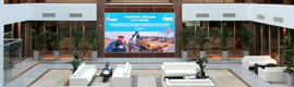 Mitsubishi Electric installs its largest OLED screen, after Japan, Siberia