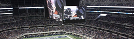 El estadio del Dallas Cowboys renueva su infraestructura de señalización digital