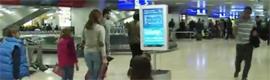 El aeropuerto de Ginebra instala un robot interactivo que guía a los pasajeros
