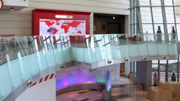 Videowall Scond Story en World of Coca-Cola