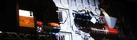 Xtrañas Producciones ofrece un espectáculo de videomapping en TAC 2013