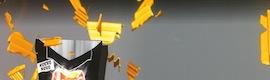 Videomapping 3D sobre maqueta y fondo de un spot publicitario de Xtrañas Producciones