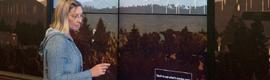 Central Washington University instala un videowall táctil para dar a conocer la historia de su profesorado
