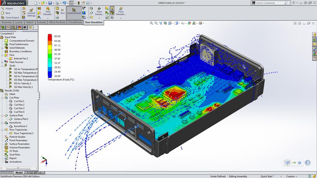 Solidworks 2014 Dassault Systèmes range allows you to design
