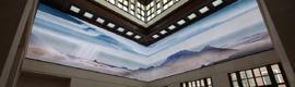 Barco instala en el Centro Presidencial George W. Bush una pantalla LED multidimesional de 360º