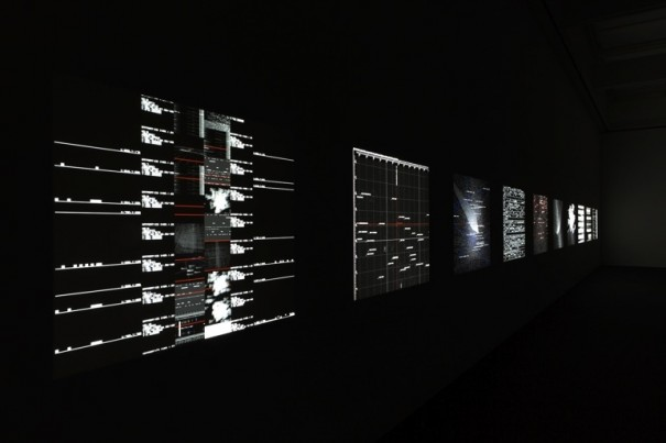 Datamatrix Ryoji Ikeda foto Ryuichi Maruo