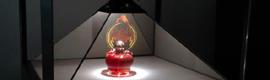 El display holográfico Dreamoc 360 XXL: un mundo de realidad y ficción en 360º y a gran escala