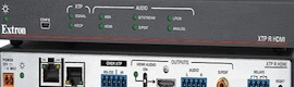 Scale Extron XTP SR HDMI receiver provides distribution of high-quality images to digital displays