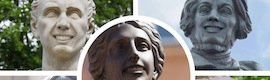 Las estatuas de Polonia sonríen con ayuda de la realidad aumentada de Hypermedia Isobar