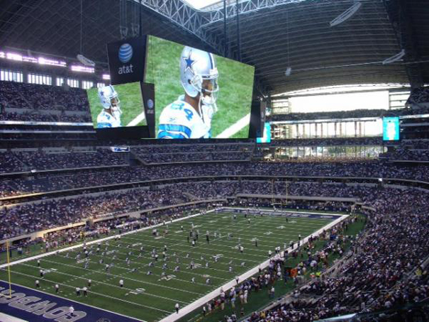 Pantalla del Estadio Dallas Cowboys