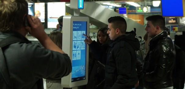 Robbi en el Aeropuerto Ginebra