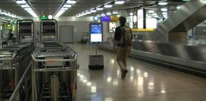 Robbi en Aeropuerto Ginebra