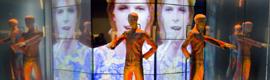 Watchout optimiza las imágenes del gran videowall instalado en la exposición dedicada a David Bowie