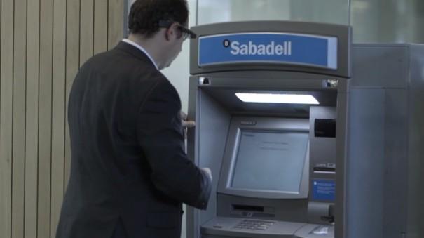 App Banco Sabadell para Google Glass