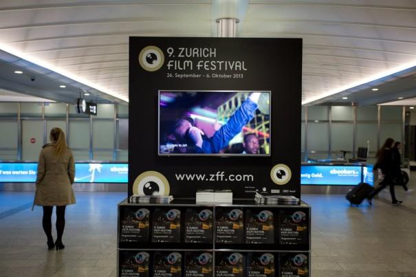 BrightSign digital signage en Festival Cine de Zurich