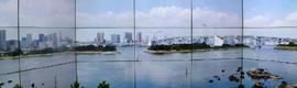 CIC realiza su primera experiencia 5K para el videowall que Sharp tiene en su showroom de Tokio