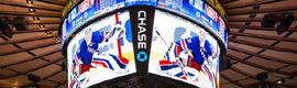 La tecnología de Daktronics es utilizada para construir el nuevo marcador del Madison Square Garden