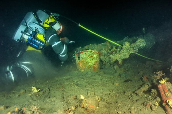 Dassault en proyecto arqueologia marina La Luna