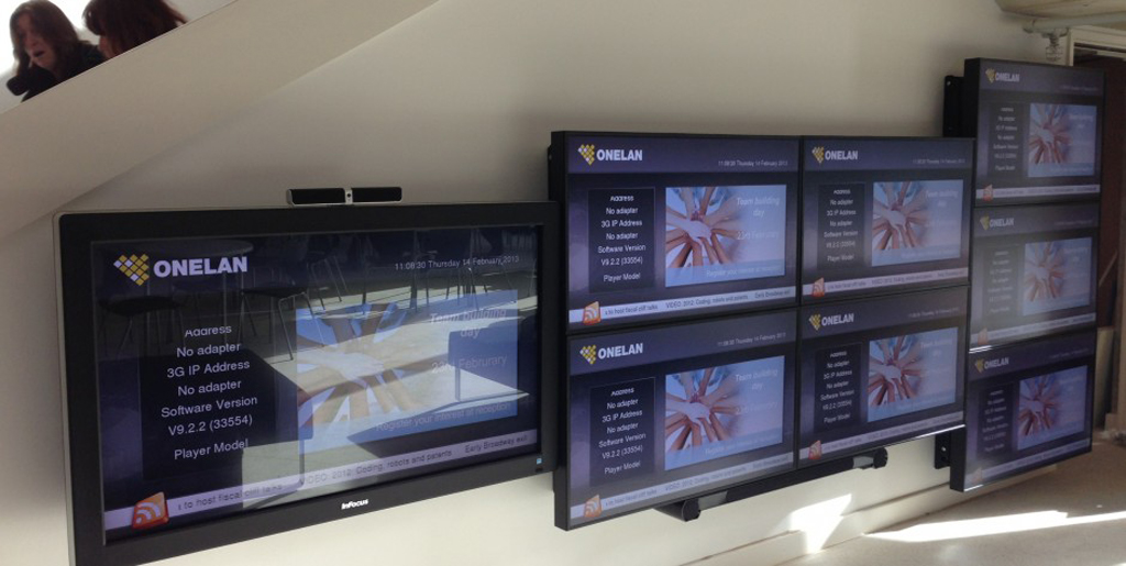 how to create digital signage