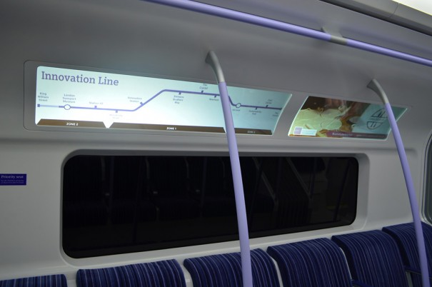 Siemens exhibition inspired in London