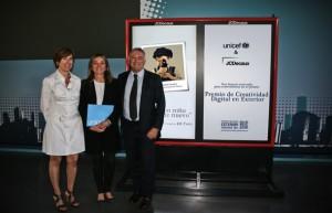 JCDecaux y Unicef premio 2013