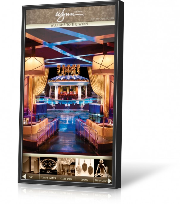 Janus Displays Concierge en The Wynn