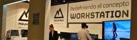 Mountain apuesta por la realidad aumentada en su stand de SIMO Network 2013