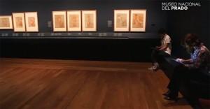 Museo del Prado Exposicion Roma en el bolsillo tablet Samsung