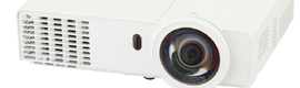 Panasonic TW / TX, DLP projectors short throw for teachers and corporate applications