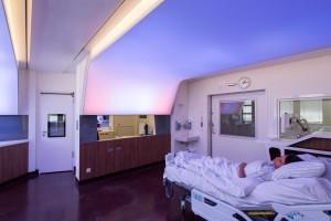Philips Luminous Ceiling en hospitales
