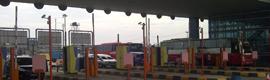 Vivotek vigila el tráfico en la autopista de peaje Yakarta-Cikampek en Indonesia