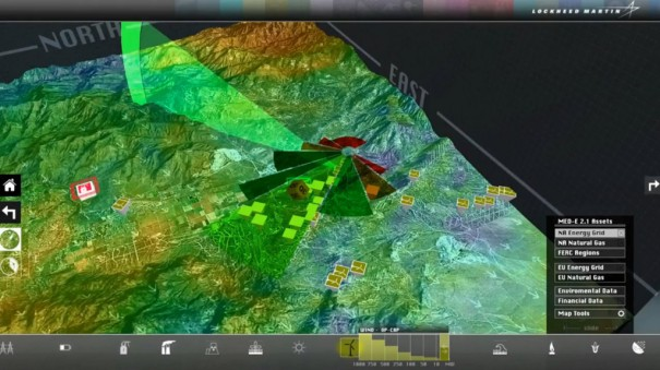 Vizrt y Lockheed Martin MED-E
