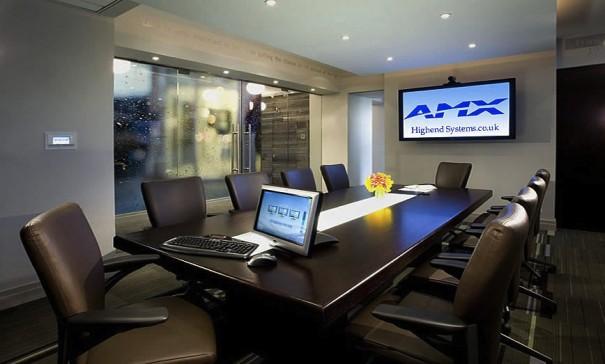 AMX sala de reuniones