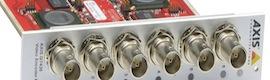 Axis Q7436 y Q7920: codificador de vídeo en tarjeta y chasis para soportar hasta 84 cámaras de seguridad