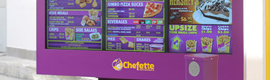 Сеть ресторанов Chefette ставки на экраны меню Itsenclosure