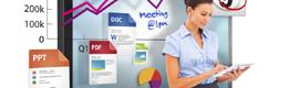 Charmex comercializa los monitores interactivos Clevertouch del fabricante inglés Sahara