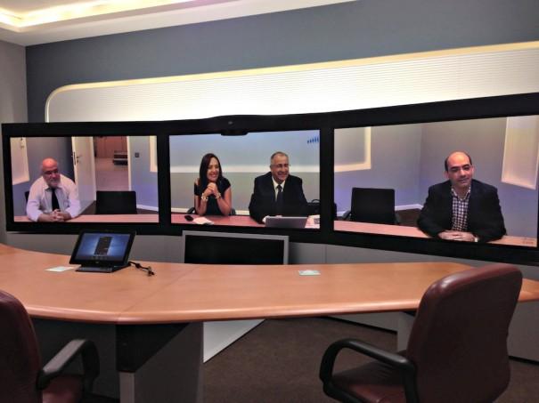 Cisco telepresencia Canarias