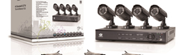 Conceptronic CTV, kit video surveillance monitoring in remote interior and exterior