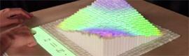 El MIT desarrolla la pantalla dinámica InFORM para interacturar con objetos en 3D de forma remota
