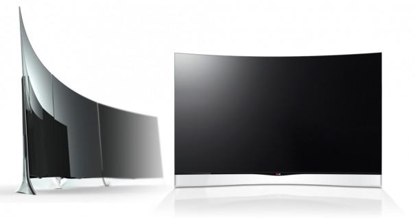 LG OLED curvo EA980