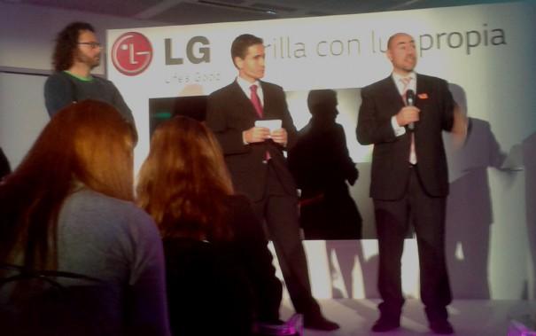 LG presenta en España OLED curvo EA980