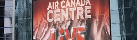 Air Canada Center attracts sports fans with over 360 digital signage screens managed with Omnivex Moxie