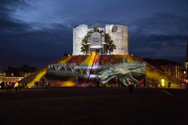 Projection Studio Triquetra Illuminating York 2013