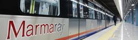 Exeleria proporciona el sistema de megafonía de evacuación para el proyecto Marmaray