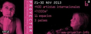 Proyector 2013 cartel