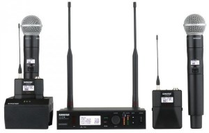 Shure wireless range