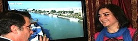 The Seville tourism Consortium promotes the city with digital information points and an app with augmented reality